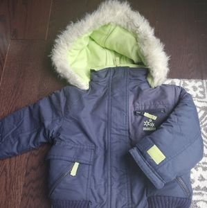 Osh kosh girls snow suit